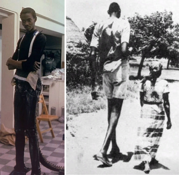 Великан из Нигерии, сыгравший роль пришельца в фильме Ридли Скотта «Чужой»