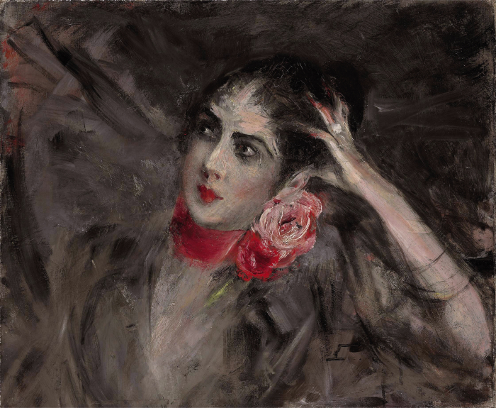 Екатерина Радзивилл, портрет Джованни Болдини