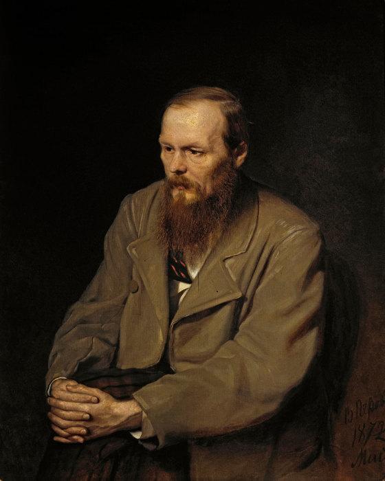 В. Перов. Портрет писателя Ф.М Достоевского, 1872 г.