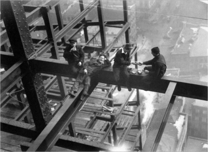 Фотография из «высотной» серии Чарльза Эббетса