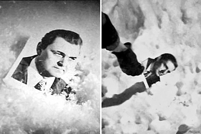 Путаница с фотографией Ипполита на снегу