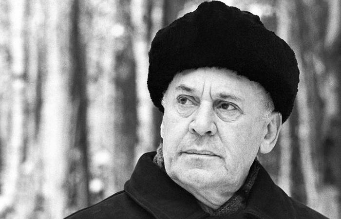 Советский актер и режиссер Борис Ливанов