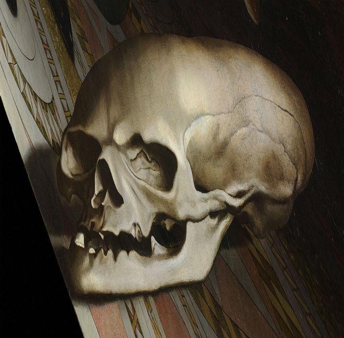 Если смотреть под правильным углом, странный объект на картине «Послы» превращается в череп