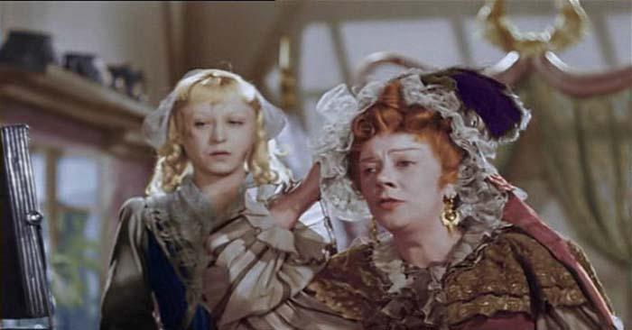 Кадр из к/ф «Золушка», 1947 год