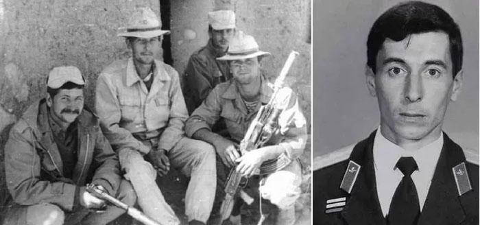 Карен Микаэлович Таривердиев, офицер Советской Армии во время службы в Афганистане и в Старокрымской бригаде