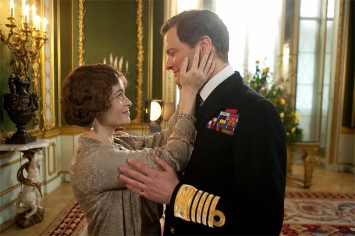 Колин Фёрт и Хелена Бонэм Картер в роли королевской четы в фильме «Король говорит!»