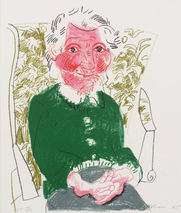 Портрет матери I, 1985