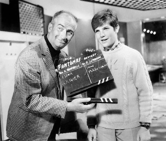 Во второй части трилогии вместе с де Фюнесом снялся его сын - Оливье