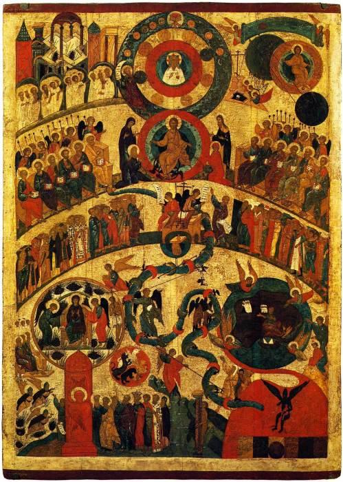 Икона «Страшный суд», Новгород, сер. XV в.