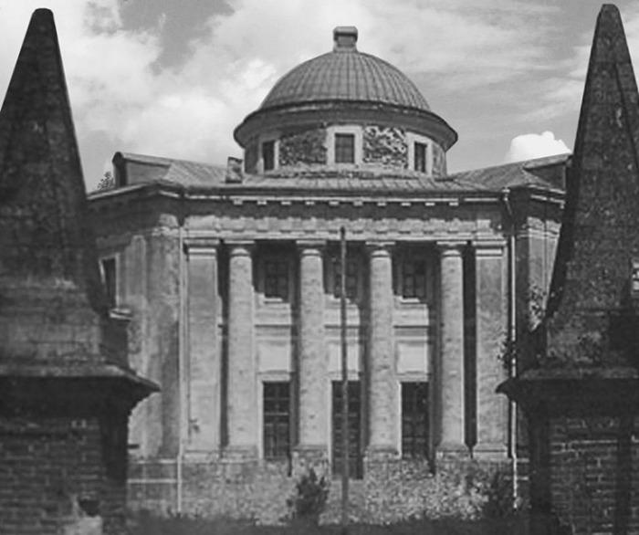 Вид на усадьбу Петровское – Алабино, конец XIX века