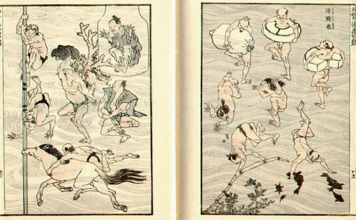 Старинные японские гравюры – прообразы современных комиксов