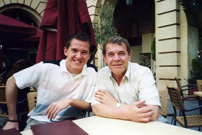 Алексей Булдаков с сыном Иваном