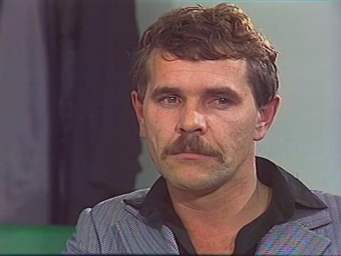 Алексей Булдаков в фильме «Следы остаются», 1982 год