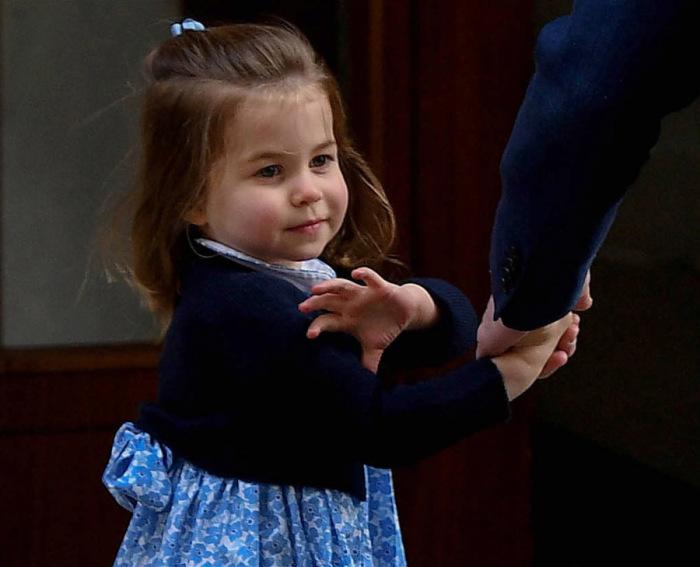 Её Королевское Высочество принцесса Шарлотта Кембриджская, дочь принца Уильяма