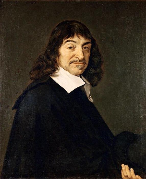 Портрет Декарта кисти Франса Халса, 1648 г.
