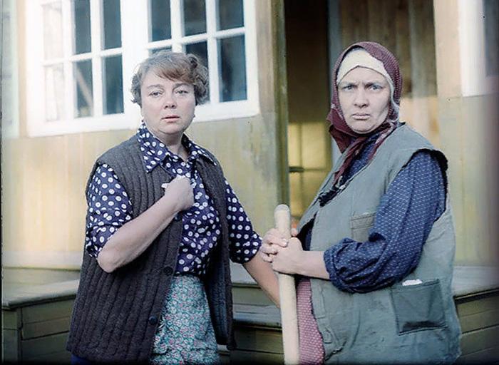 Кадр из к/ф «Любовь и голуби», 1984 год