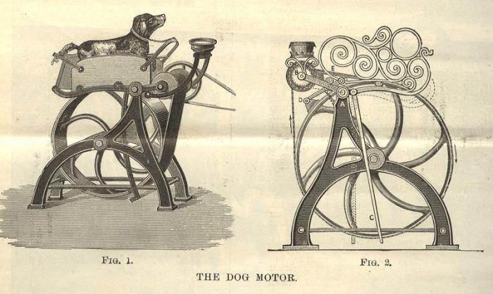 «Собачий мотор» для швейной машинки