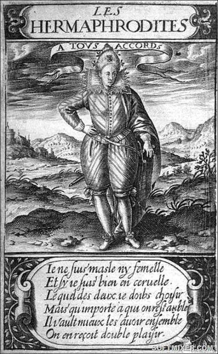 Сатира того времени называет двор Генриха III Островом гермафродитов