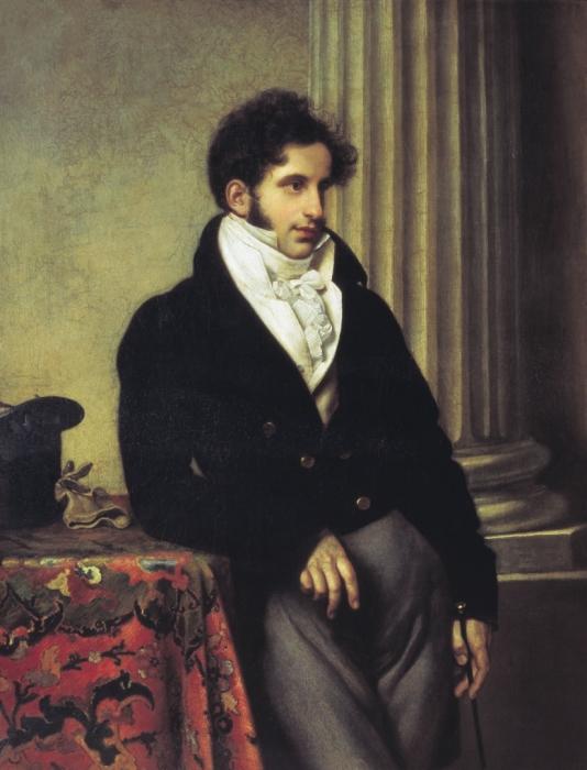 С.С. Уваров, Орест Кипренский, 1819 г.