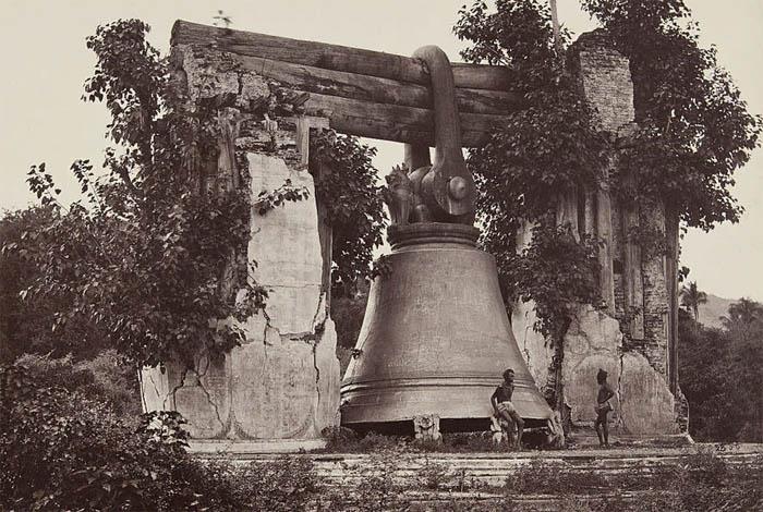 Мингунский колокол в 1873 году