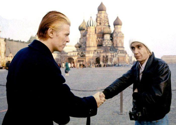 Дэвид Боуи и Игги Поп в Москве, 1976 год