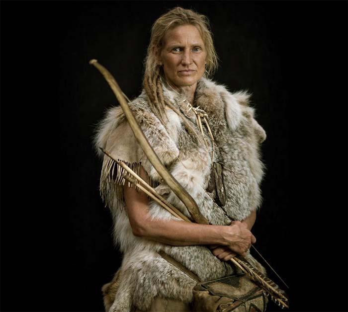 Линкс Вилден – настоящая женщина каменного века
