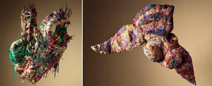 Арт-объекты, созданные Джудит Скотт