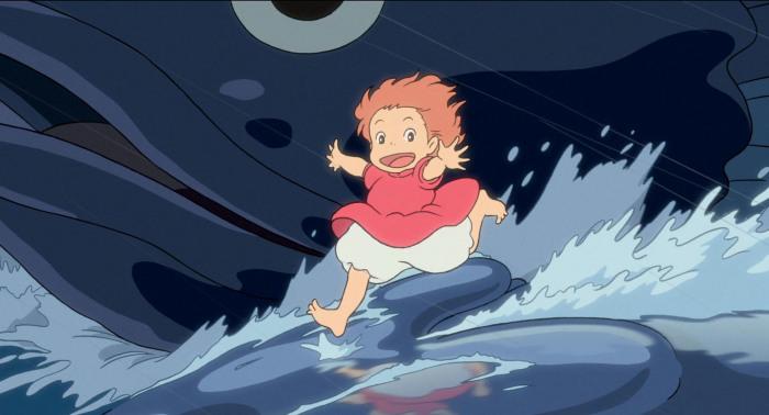 «Рыбка Поньо на утесе» предварительно предполагался как мультфильм по мотивам «Русалочки», однако равномерно сюжет немного поменялся (правильнее, совершенно)