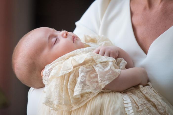 Его Королевское Высочество принц Луи Кембриджский, младший сын принца Уильяма
