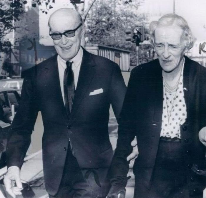 Феликс и Ирина Юсуповы в Париже, фото 1960-х годов
