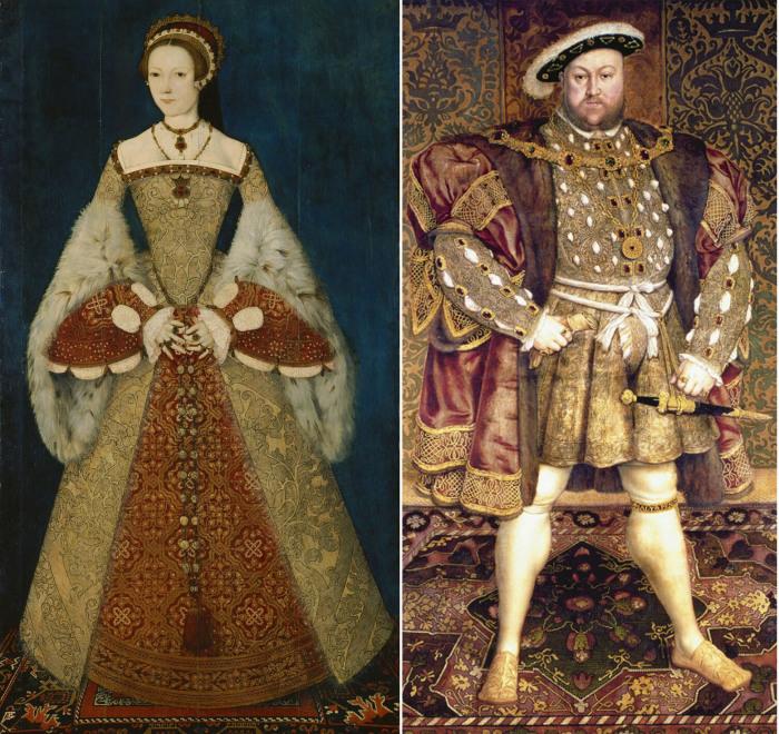 Екатерина Парр и Генрих VIII