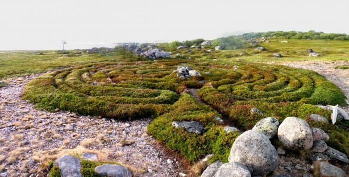 Лабиринты Соловецких островов – памятник эпохи неолита