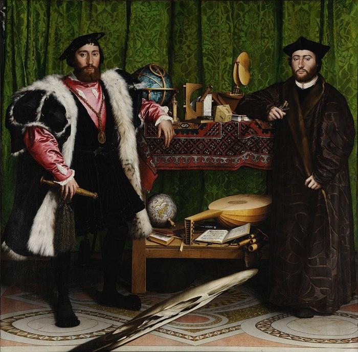 Ганс Гольдбейн младший «Послы», 1533 г.