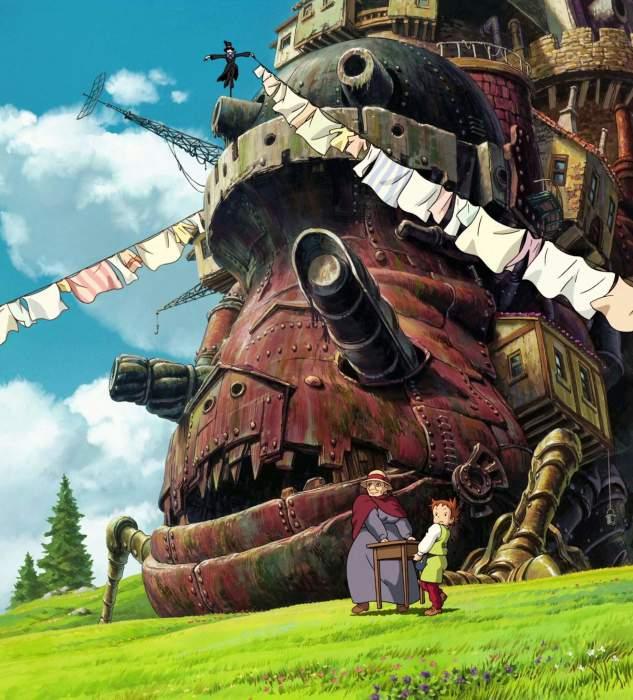 Кадр из м/ф «Ходячий замок»