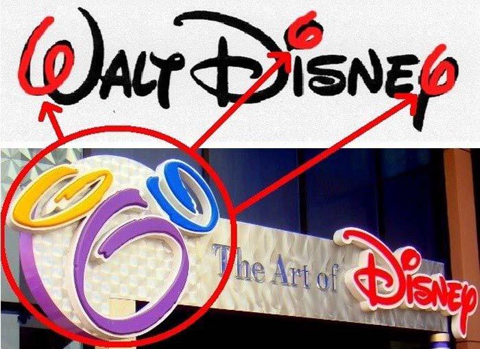 «Число зверя», скрытое в логотипе «Дисней» стало главным аргументом обвинителей телекомпании