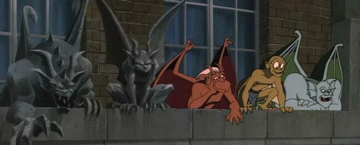 Кадр из мультфильма «Горгульи», посвященного этим существам