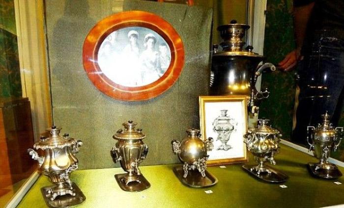 Выставка «Самоварчики детей Николая II в музее «Тульские самовары»
