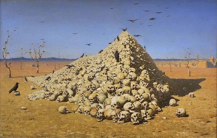 Василий Верещагин, «Апофеоз войны», 1871 год