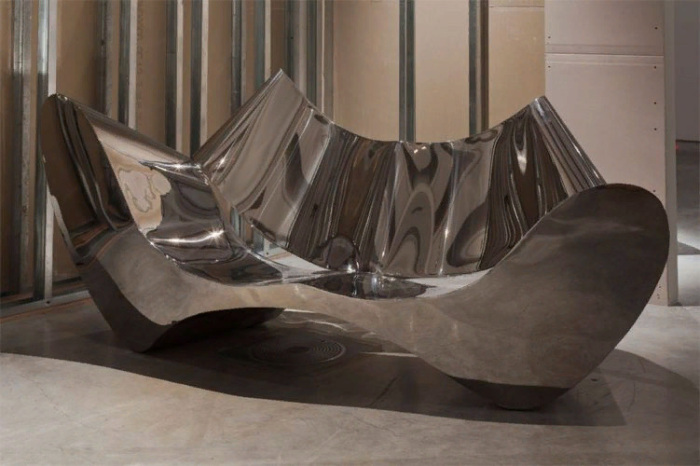 Диван Stainless Steel Sofa, дизайнер Рон Арад