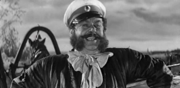 Борис Ливанов в роли Ноздрева, «Мертвые души», 1960 г.