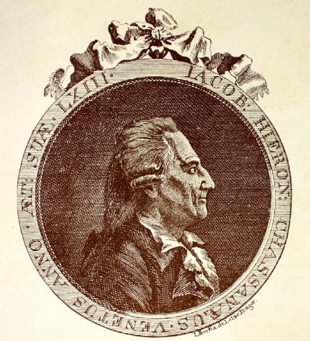 Казанова в марте 1788 года в возрасте 62 лет.