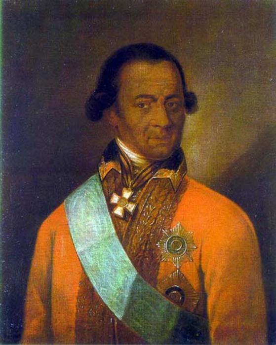 Портрет, некоторыми исследователями атрибутированный как портрет А. П. Ганнибала