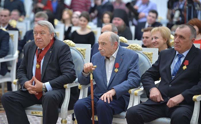 Валентин Гафт на церемонии вручения государственных наград Российской Федерации, 10 марта 2016 года