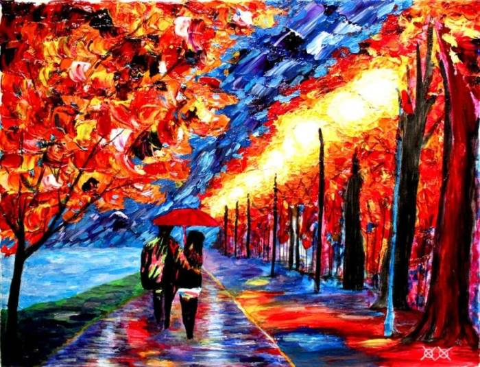 Джон Брамблитт – слабовидящий художник