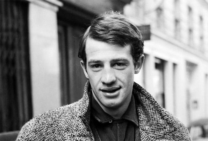 Студент актерского факультета Парижской консерватории Жань-Поль Бельмондо  в 1955 году