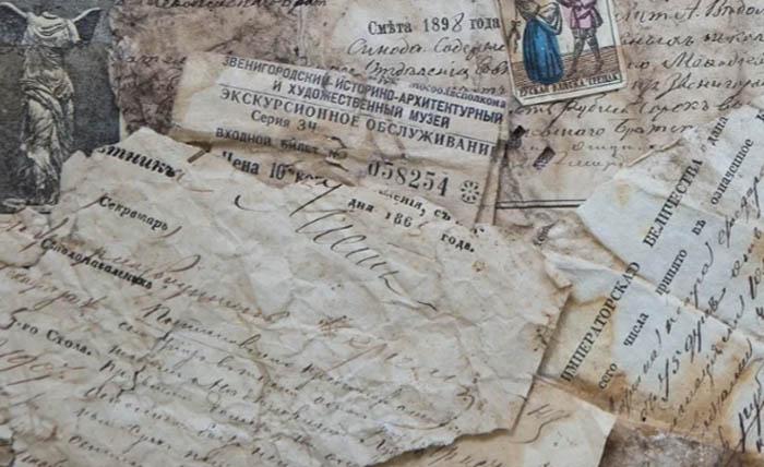 Документ из «птичьего архива», найденный в Звенигороде (постановление столоначальника – внизу слева)/ Фото: Кирилл Самурский