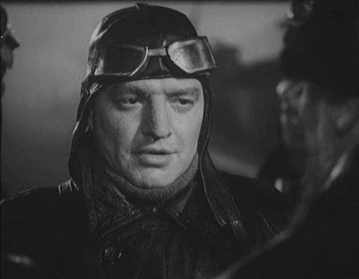 В. Белокуров в роли В.П. Чкалова, 1941 г.
