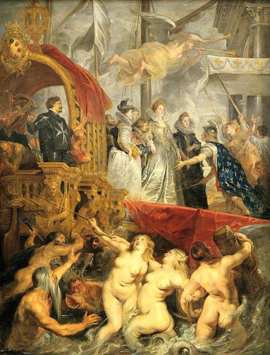 Питер Пауль Рубенс, Прибытие Марии Медичи в Марсель