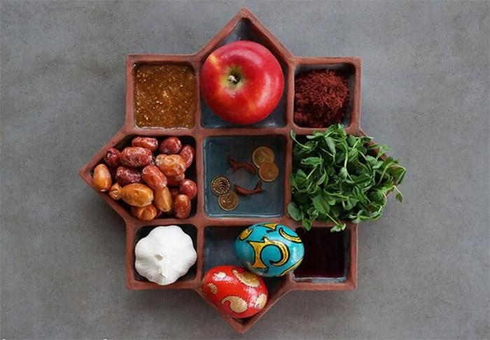 Хафт-син – мусульманский традиционный набор еды для весеннего праздника