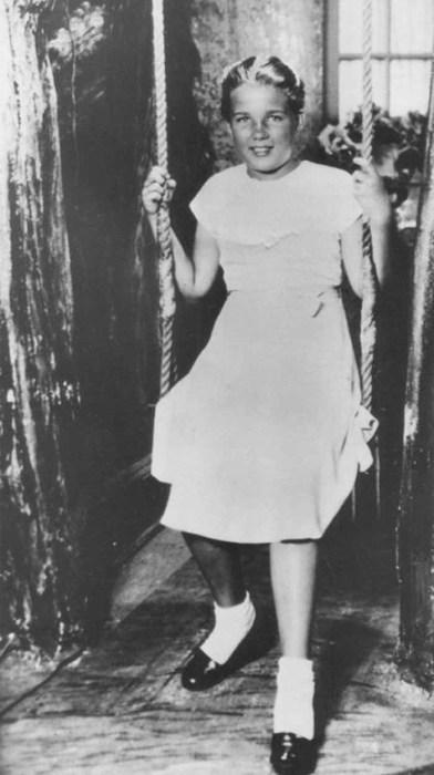 Фотография Салли Хорнер, обнаруженная в пансионе в Атлантик-Сити в августе 1948 года